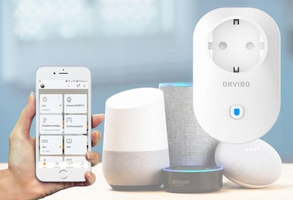 enchufe wifi compatible Alexa y google home